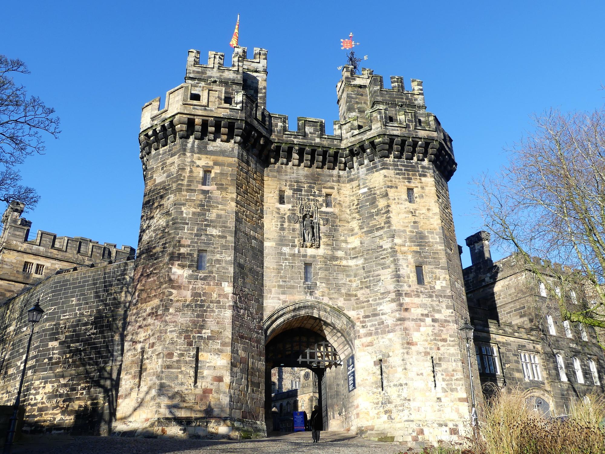 Lancaster Castle, Gatehouse Entrance