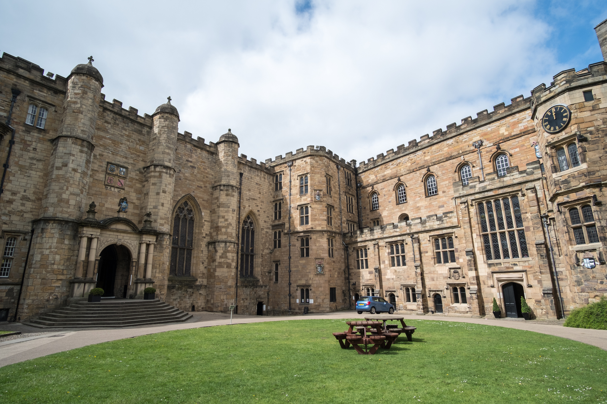 Durham: Durham Castle, a Norman castle in the city of Durham, England