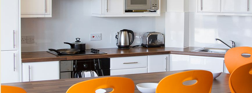 CityBlock 1 Lancaster fully equipped kitchen