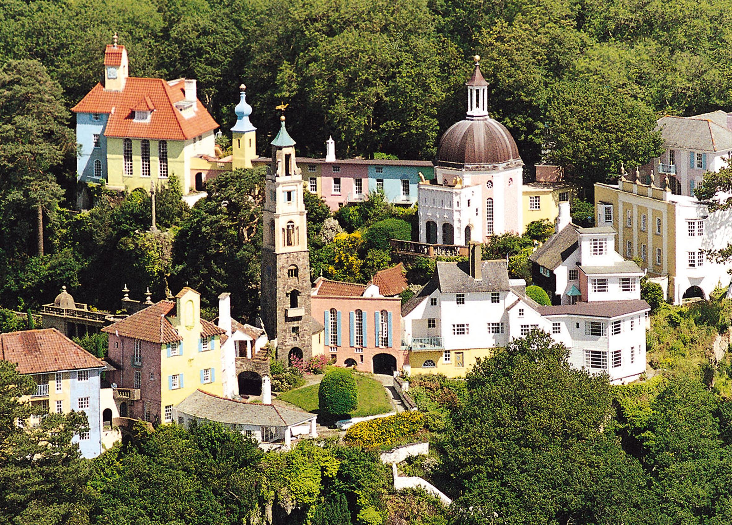 aerialviewofvillage