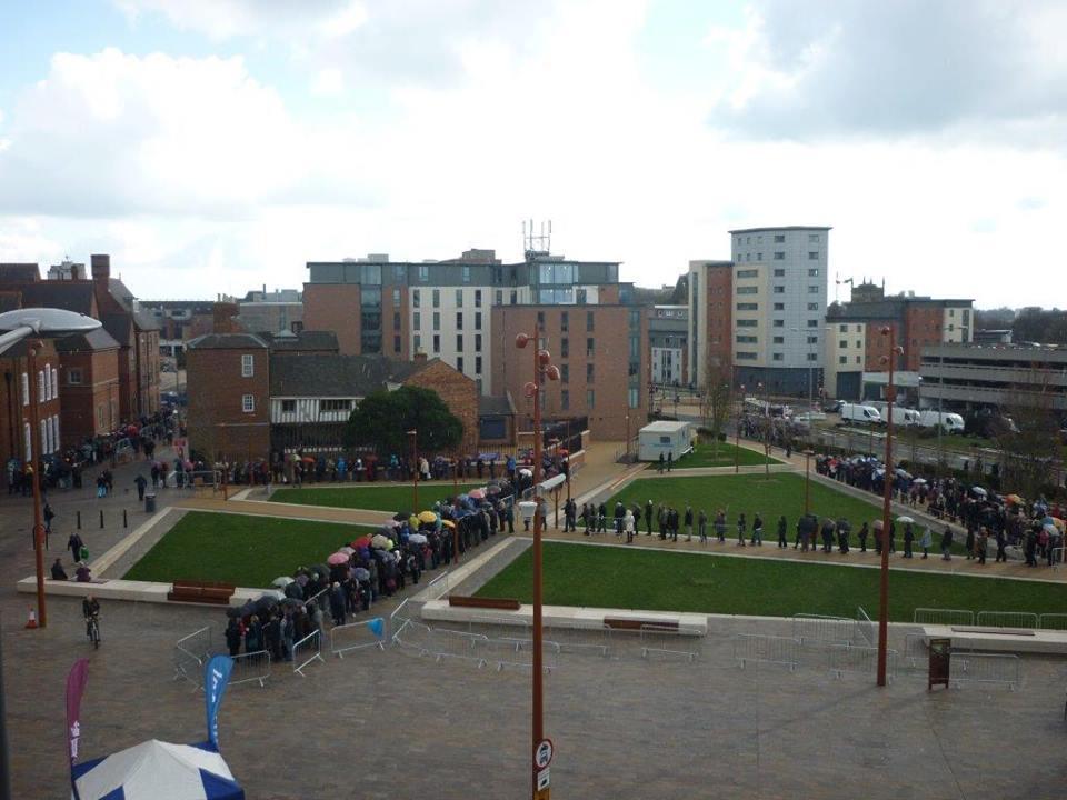 Richard III queue