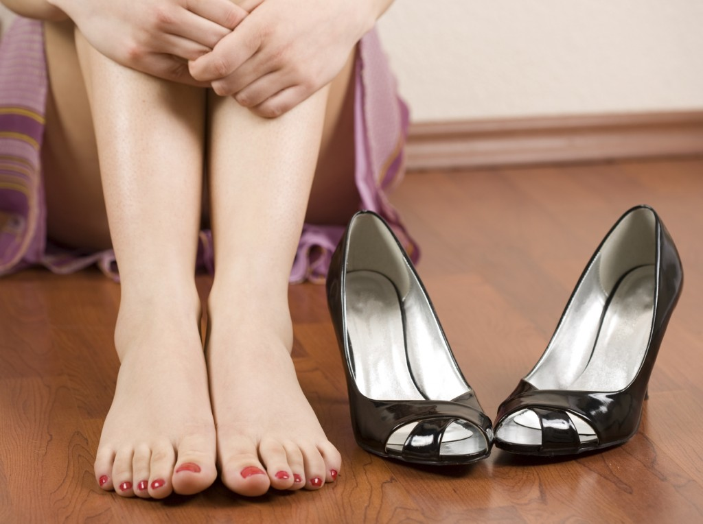 Woman feet and shoes - iStock_000008996220_Medium