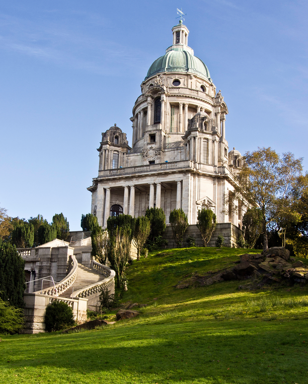 Ashton Memorial, Williamson Park, Lancaster, UK